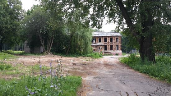 Voskresensk, Russland: Усадьба Спасское - реставрация?