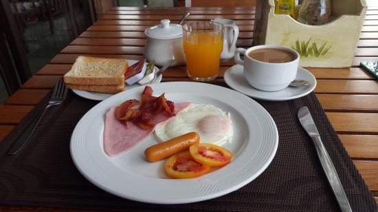 Sirin Hotel: Sirin American breakfast.