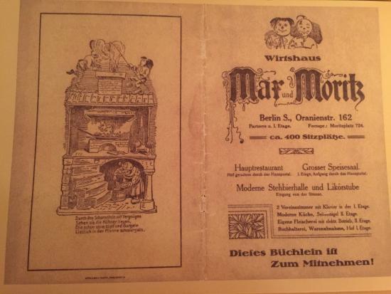 max und moritz picture of max und moritz berlin tripadvisor. Black Bedroom Furniture Sets. Home Design Ideas