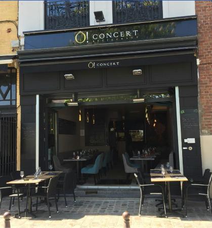 O Concert Lille o concert - picture of o concert restaurant, lille - tripadvisor