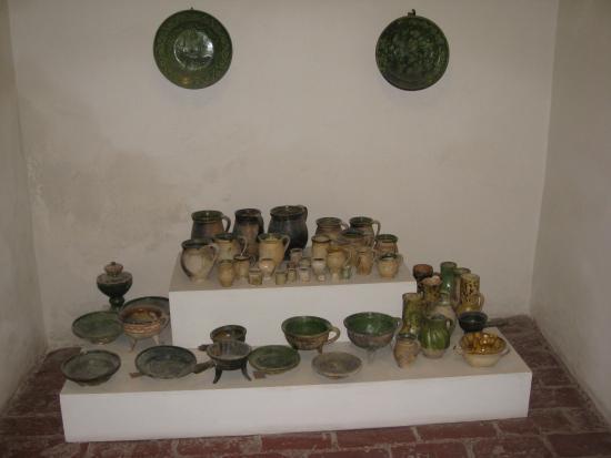 Exhibit inside Miklus prison