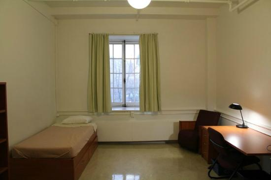 Grey Nuns Residence: Single room with sink $49/night.