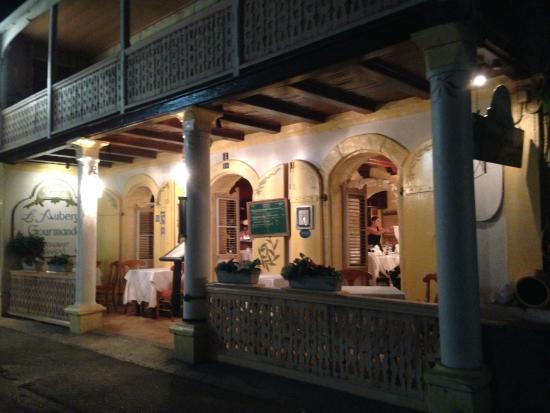 L Auberge Gourmande Restaurant St Martin
