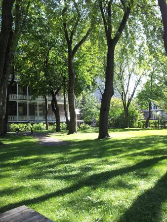 Grey Nuns Residence: View from the grounds.
