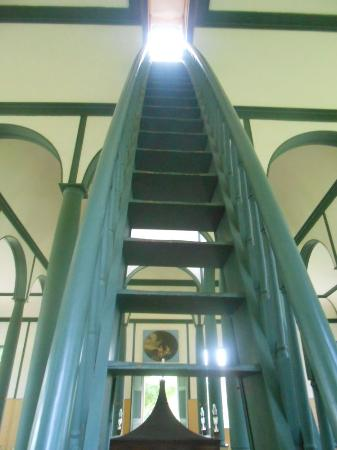 The Jacob's Ladder inside the Sharon Temple