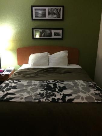 Sleep Inn & Suites: Modern updates, clean. Pool, hot tub, and a lazy river... Thanks for the great stay.