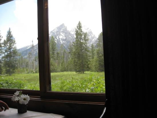 Jenny Lake Lodge Dining Room: View From The Dining Room Part 63