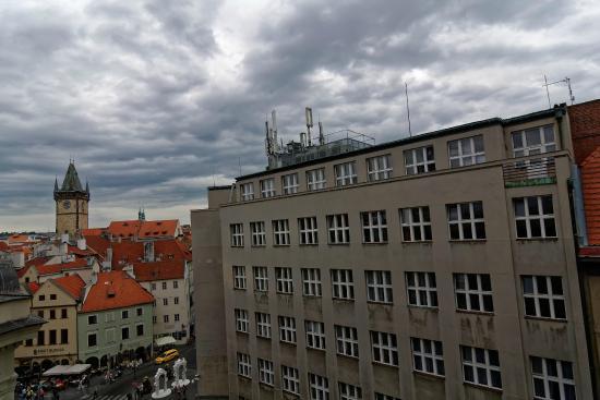 Hostel Franz Kafka: Вид из окна
