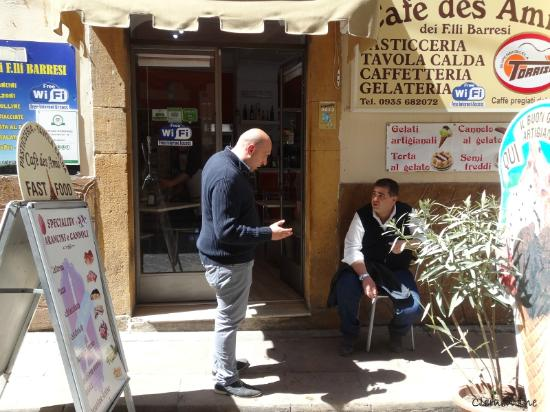 cafe des amis : Cafè des Amis à Piazza Armerina