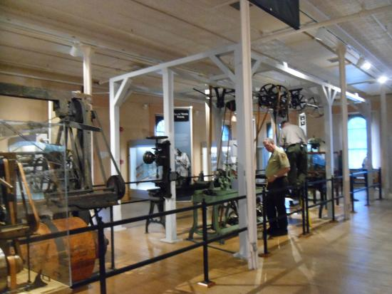 Springfield Armory National Historic Site: Early machinery