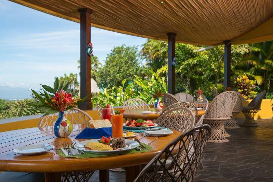 Xandari Resort & Spa Restaurant: Setting