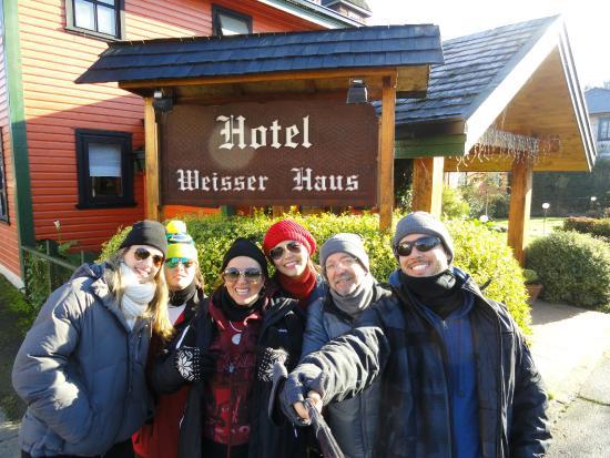 Weisserhaus: Entrada do Hotel