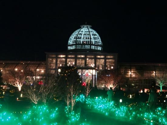 Lewis Ginter Botanical Garden: Christmas Lights