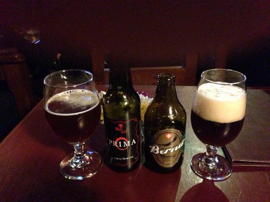 The Black Rock Pub: Buena carta de cervezas artesanales chilenas