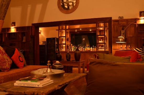 Escarpment Luxury Lodge : lounge
