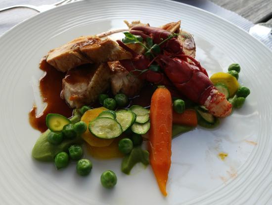 Hotel des Bains & Wellness: menu du jour