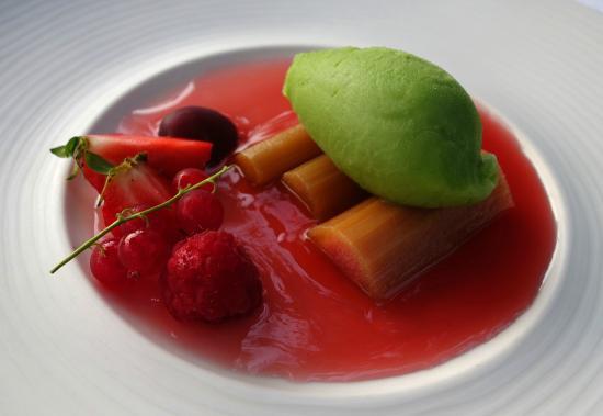 Hotel des Bains & Wellness: sorbet menthe
