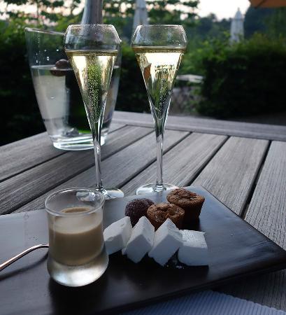Hotel des Bains & Wellness: mignardise