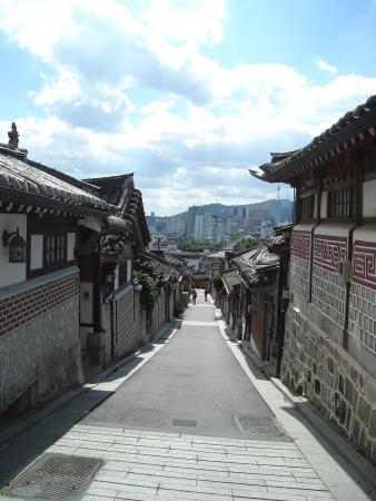 Hanok-Dorf Bukchon: Вид3