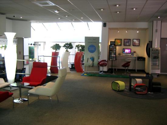 Novotel Rennes Alma : Aufenthaltsbereich