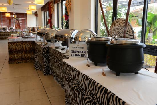 Golden Tulip Festac Lagos: Festac Restaurant