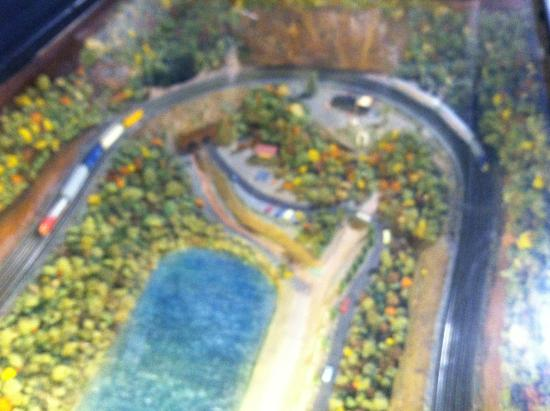Alto Model Train Museum : Model layout of Horseshoe Curve
