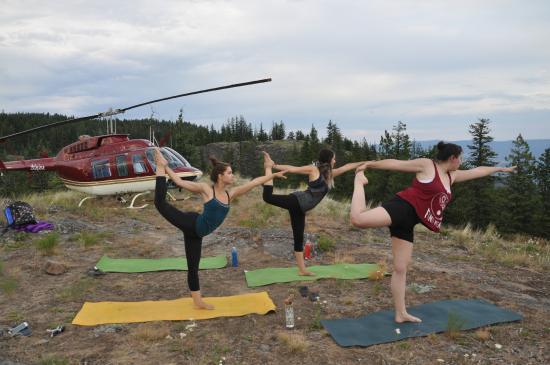 Elevate Heli Yoga