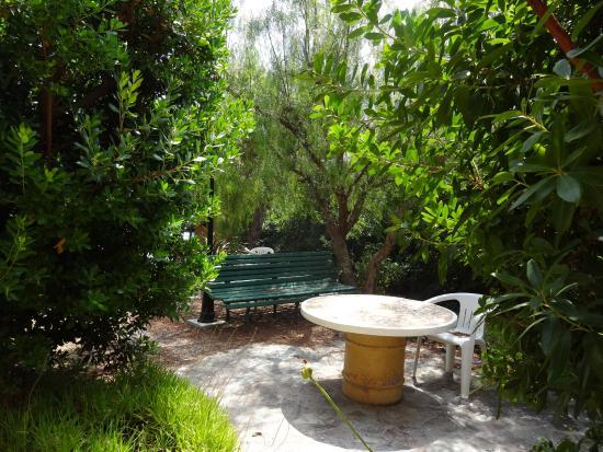 Jardin photo de motel de la puntella le rousse for Motel jardin