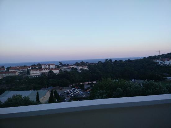 Kamara Dubrovnik: Vistas desde la terraza