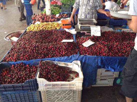 Bodrum Bazaar: A selection of goods available