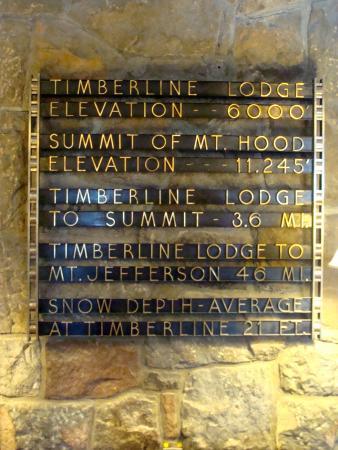 Timberline Lodge Ski Area: Inside the historic Lodge