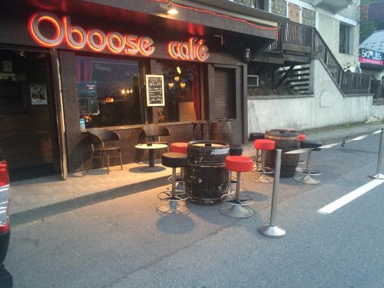 Oboose Cafe St Gervais
