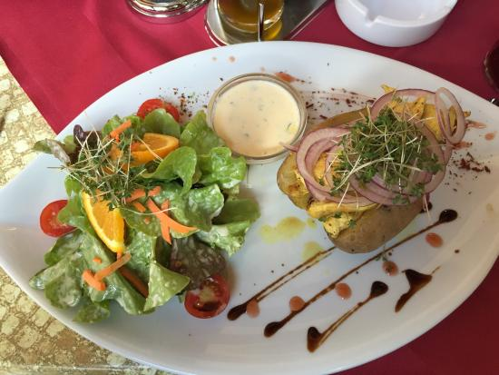 Restaurant Feinschmeck: Ofenkartoffel