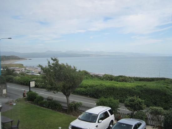 Plas Isa Hotel: View from our window