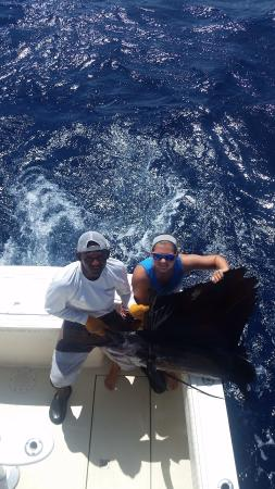 Go Fish Costa Rica: Daughter's Sailfish