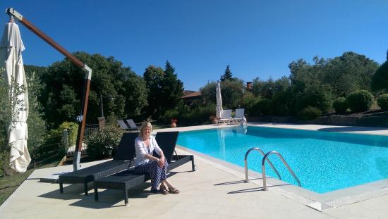 Country House Montali: great pool