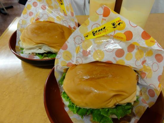 チキン チーズ バーガー