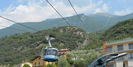 Cable Car Station And Malcesine Picture Of Monte Baldo