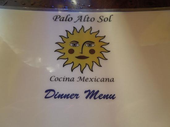 Palo Alto Sol Restaurant: Menu