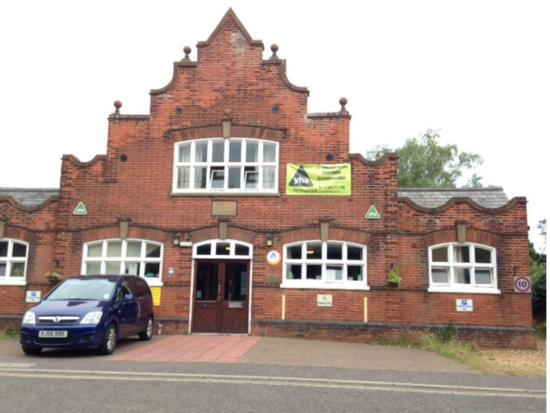 YHA Wells-next-the-sea : Front Of Hostel
