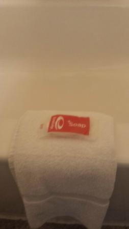 Econo Lodge Zanesville : Bath, Towel, and Soap