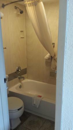 Econo Lodge Zanesville : Bathroom