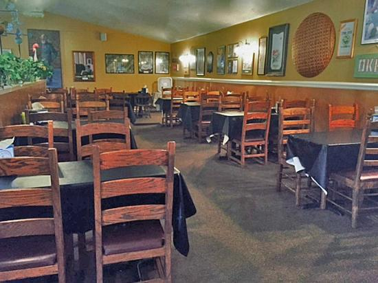 Pig & Chick: Inside Restaurant