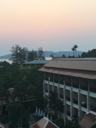 Krabi Heritage Hotel: sol nedgang
