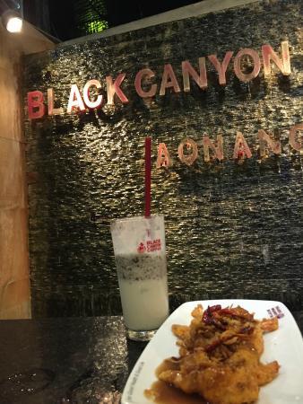 Krabi Heritage Hotel: mums lækkert mad