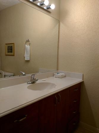 Galleria Garden Hotel/Apartments: Updated Bathroom
