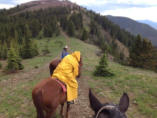 A.A. Taos Ski Valley Wilderness Adventures : Lead riders