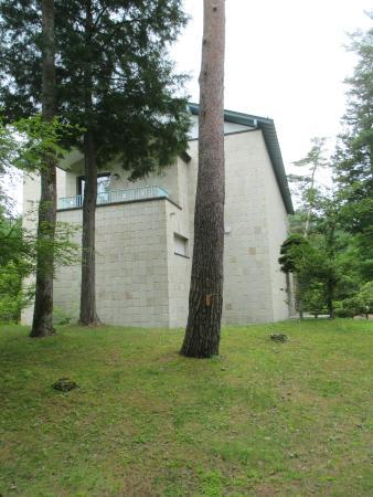 Bungakukan (Mishima Yukio Museum): Exterior