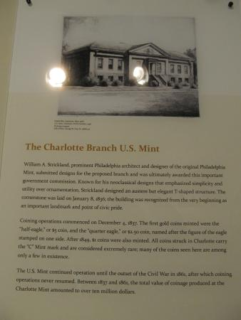 Mint Museum Randolph: Info about the Mint