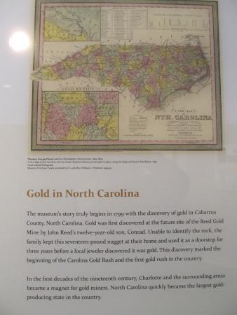 Mint Museum Randolph: Gold in NC